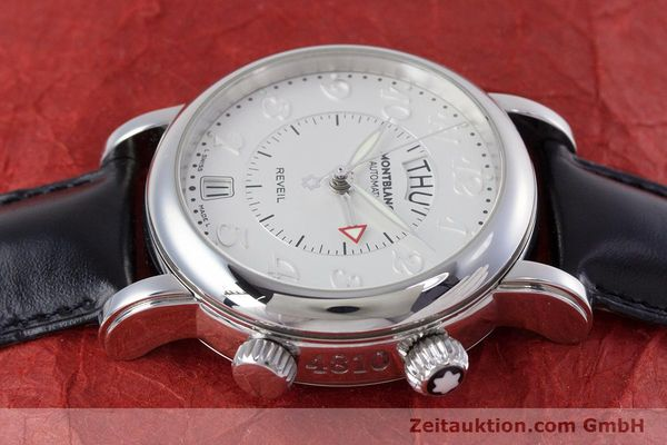Used luxury watch Montblanc Meisterstück steel automatic Kal. 4810904 Ref. 7026  | 153469 05
