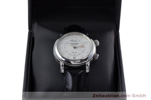 Used luxury watch Montblanc Meisterstück steel automatic Kal. 4810904 Ref. 7026  | 153469 07