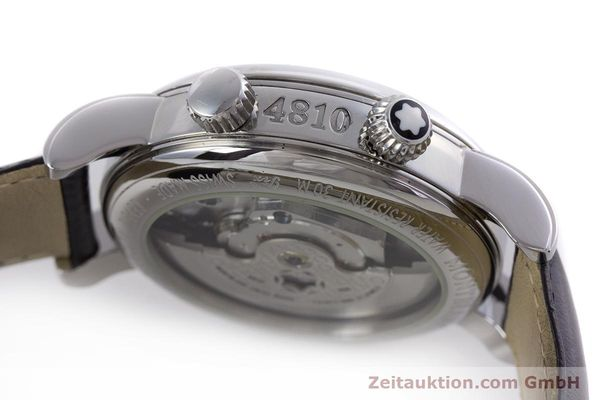 Used luxury watch Montblanc Meisterstück steel automatic Kal. 4810904 Ref. 7026  | 153469 08