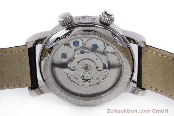 Used luxury watch Montblanc Meisterstück steel automatic Kal. 4810904 Ref. 7026  | 153469 09