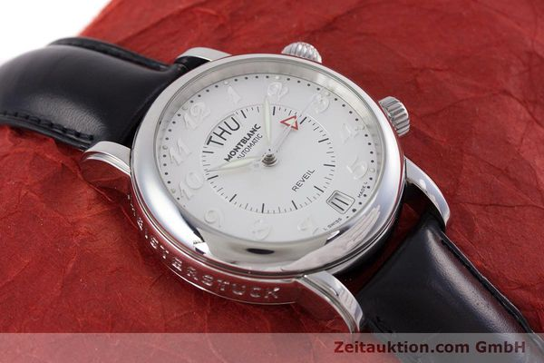 Used luxury watch Montblanc Meisterstück steel automatic Kal. 4810904 Ref. 7026  | 153469 14