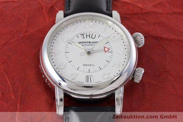 Used luxury watch Montblanc Meisterstück steel automatic Kal. 4810904 Ref. 7026  | 153469 15