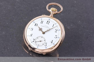 ASSMANN POCKET WATCH 14 CT RED GOLD MANUAL WINDING [153472]