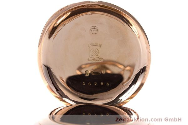 Used luxury watch Assmann Pocket Watch 14 ct red gold manual winding  | 153472 09