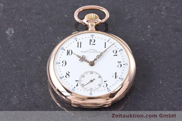 Used luxury watch Assmann Pocket Watch 14 ct red gold manual winding  | 153472 15