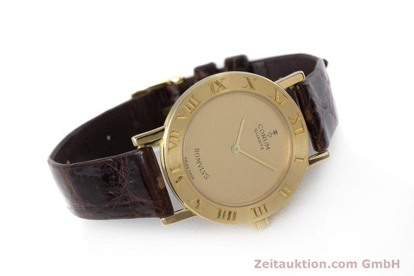 Used luxury watch Corum Romulus 18 ct gold quartz Kal. ETA 210.001 Ref. 50.201.56  | 153483 03