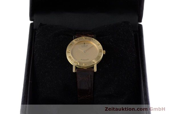 Used luxury watch Corum Romulus 18 ct gold quartz Kal. ETA 210.001 Ref. 50.201.56  | 153483 07
