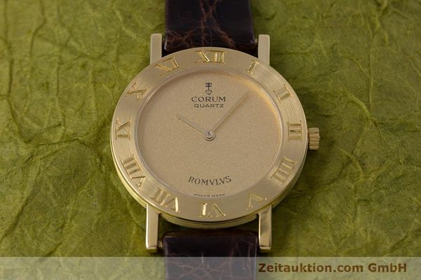 Used luxury watch Corum Romulus 18 ct gold quartz Kal. ETA 210.001 Ref. 50.201.56  | 153483 15