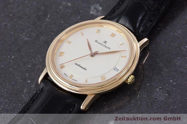 Used luxury watch Blancpain Villeret 18 ct gold automatic Kal. 95  | 153500 01
