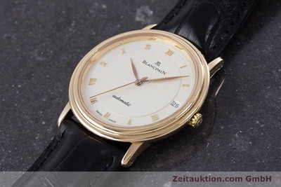 BLANCPAIN VILLERET OR 18 CT AUTOMATIQUE KAL. 95 LP: 10910EUR [153500]