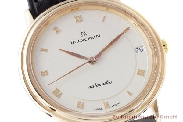 Used luxury watch Blancpain Villeret 18 ct gold automatic Kal. 95  | 153500 02