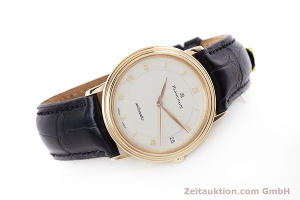 Used luxury watch Blancpain Villeret 18 ct gold automatic Kal. 95  | 153500 03