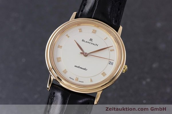 Used luxury watch Blancpain Villeret 18 ct gold automatic Kal. 95  | 153500 04