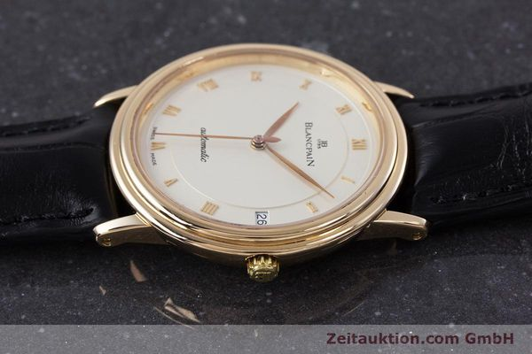 Used luxury watch Blancpain Villeret 18 ct gold automatic Kal. 95  | 153500 05