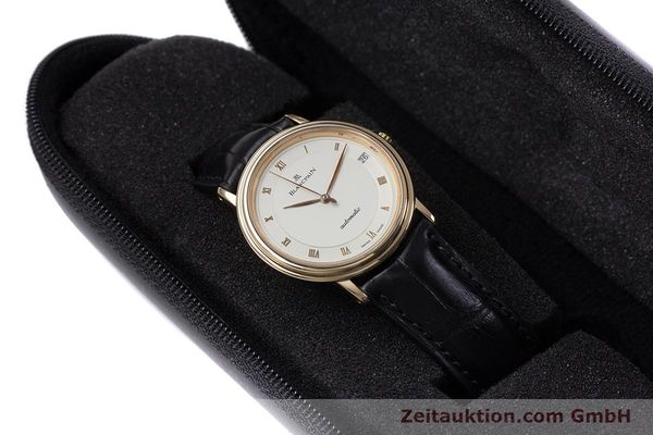 Used luxury watch Blancpain Villeret 18 ct gold automatic Kal. 95  | 153500 07