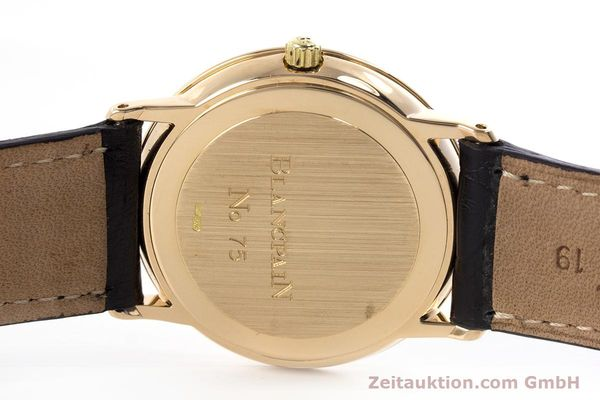 Used luxury watch Blancpain Villeret 18 ct gold automatic Kal. 95  | 153500 08