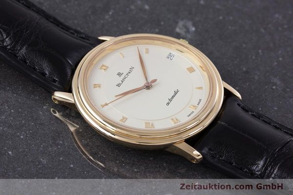 Used luxury watch Blancpain Villeret 18 ct gold automatic Kal. 95  | 153500 14