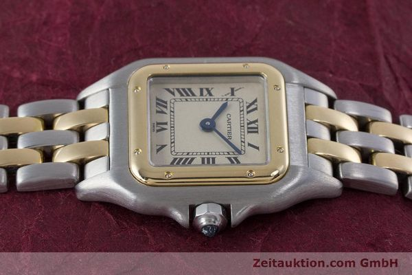 Used luxury watch Cartier Panthere steel / gold quartz Kal. 057.06  | 153501 05