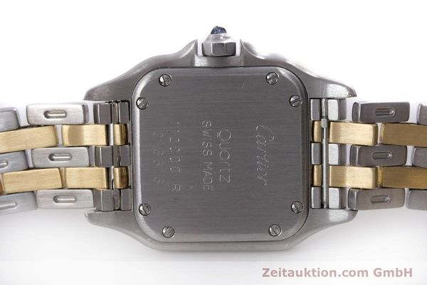 Used luxury watch Cartier Panthere steel / gold quartz Kal. 057.06  | 153501 09