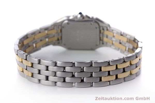 Used luxury watch Cartier Panthere steel / gold quartz Kal. 057.06  | 153501 10