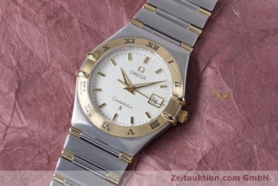 OMEGA CONSTELLATION STEEL / GOLD QUARTZ KAL. 1424 ETA 256.461 LP: 3960EUR [153505]