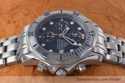 OMEGA SEAMASTER CHRONOGRAPH STEEL AUTOMATIC KAL. 1164 LP: 4440EUR [153516]