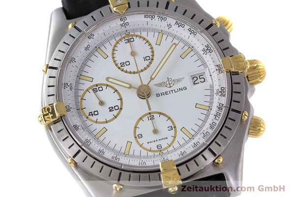 Used luxury watch Breitling Chronomat chronograph steel / gold automatic Kal. Valj.  7750 Ref. 81950  | 153520 02