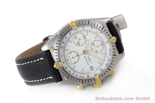Used luxury watch Breitling Chronomat chronograph steel / gold automatic Kal. Valj.  7750 Ref. 81950  | 153520 03