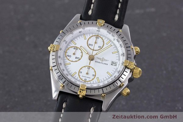 Used luxury watch Breitling Chronomat chronograph steel / gold automatic Kal. Valj.  7750 Ref. 81950  | 153520 04