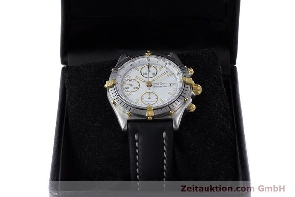 Used luxury watch Breitling Chronomat chronograph steel / gold automatic Kal. Valj.  7750 Ref. 81950  | 153520 07