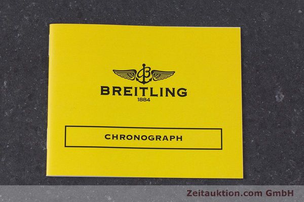 Used luxury watch Breitling Chronomat chronograph steel / gold automatic Kal. Valj.  7750 Ref. 81950  | 153520 11