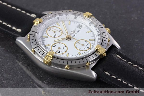 Used luxury watch Breitling Chronomat chronograph steel / gold automatic Kal. Valj.  7750 Ref. 81950  | 153520 13
