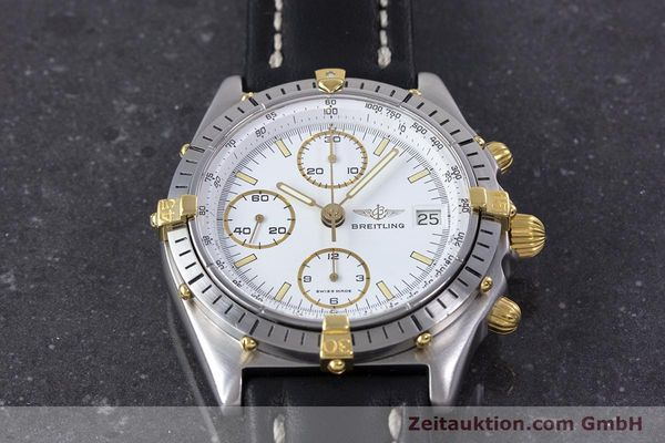 Used luxury watch Breitling Chronomat chronograph steel / gold automatic Kal. Valj.  7750 Ref. 81950  | 153520 14
