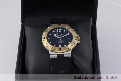BVLGARI DIAGONO STEEL / GOLD AUTOMATIC KAL. 220 TEEE [153530]