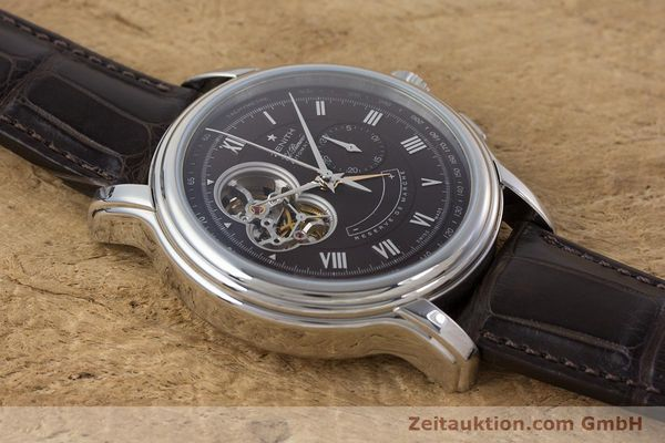 Used luxury watch Zenith El Primero chronograph steel automatic Kal. 4021 Ref. 0312604021  | 153531 14