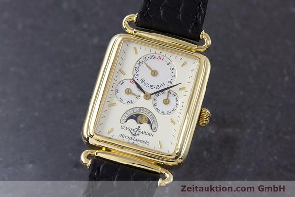 ULYSSE NARDIN MICHELANGELO 18 CT GOLD AUTOMATIC KAL. 16-5 [153532]