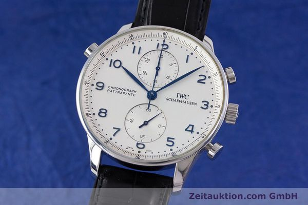 IWC PORTUGIESER RATTRAPANTE CHRONOGRAPH TRIBUTE TO ITALY LIMITIERT VP: 11100,- Euro [153536]