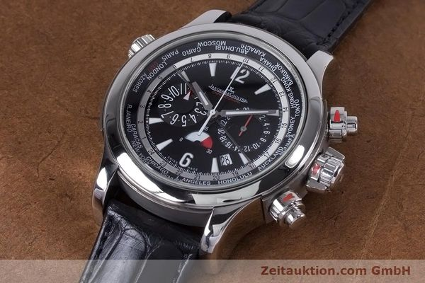 Used luxury watch Jaeger Le Coultre Master Compressor chronograph steel automatic Kal. 752 Ref. 150.8.22  | 153538 01