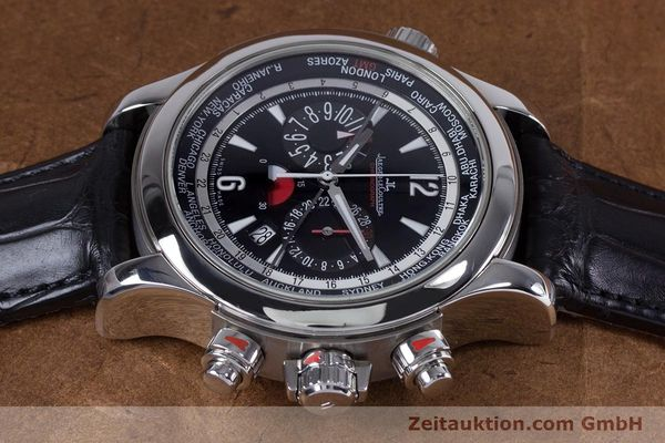 Used luxury watch Jaeger Le Coultre Master Compressor chronograph steel automatic Kal. 752 Ref. 150.8.22  | 153538 05
