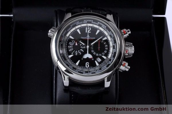 Used luxury watch Jaeger Le Coultre Master Compressor chronograph steel automatic Kal. 752 Ref. 150.8.22  | 153538 07