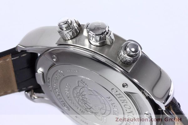 Used luxury watch Jaeger Le Coultre Master Compressor chronograph steel automatic Kal. 752 Ref. 150.8.22  | 153538 08