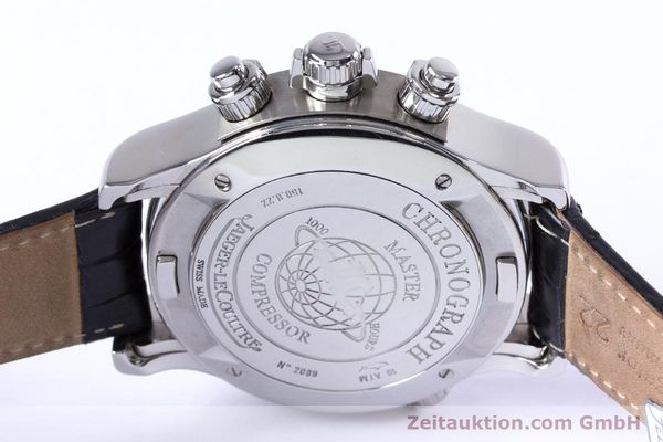 Used luxury watch Jaeger Le Coultre Master Compressor chronograph steel automatic Kal. 752 Ref. 150.8.22  | 153538 10