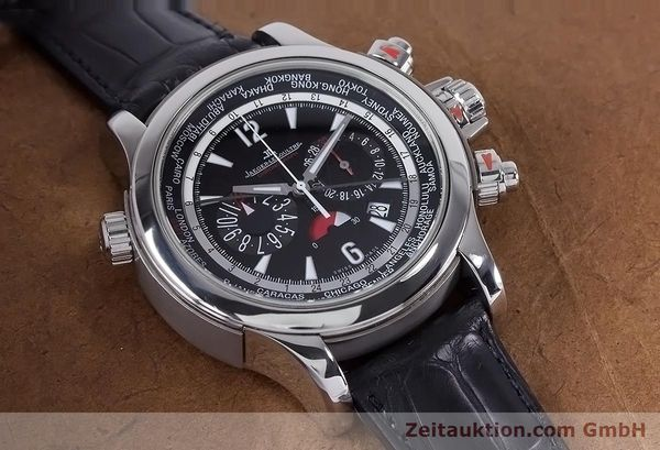 Used luxury watch Jaeger Le Coultre Master Compressor chronograph steel automatic Kal. 752 Ref. 150.8.22  | 153538 12