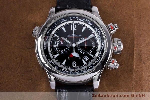 Used luxury watch Jaeger Le Coultre Master Compressor chronograph steel automatic Kal. 752 Ref. 150.8.22  | 153538 13
