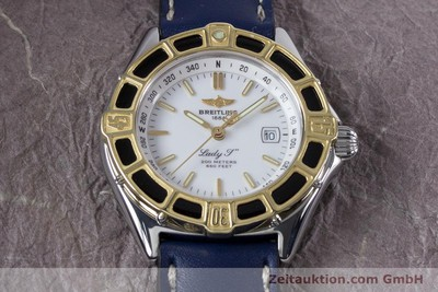BREITLING LADY J CLASS STAHL / GOLD DAMENUHR TOP D52065 VP: 2290,- EURO [153553]