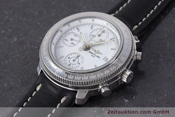 Used luxury watch Breitling Astromat chronograph steel automatic Kal. B20 ETA 7750 Ref. A20405  | 153564 01
