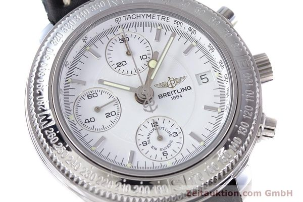 Used luxury watch Breitling Astromat chronograph steel automatic Kal. B20 ETA 7750 Ref. A20405  | 153564 02
