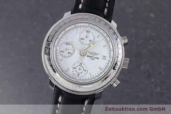 Used luxury watch Breitling Astromat chronograph steel automatic Kal. B20 ETA 7750 Ref. A20405  | 153564 04