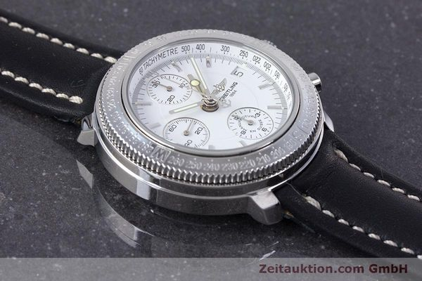 Used luxury watch Breitling Astromat chronograph steel automatic Kal. B20 ETA 7750 Ref. A20405  | 153564 13
