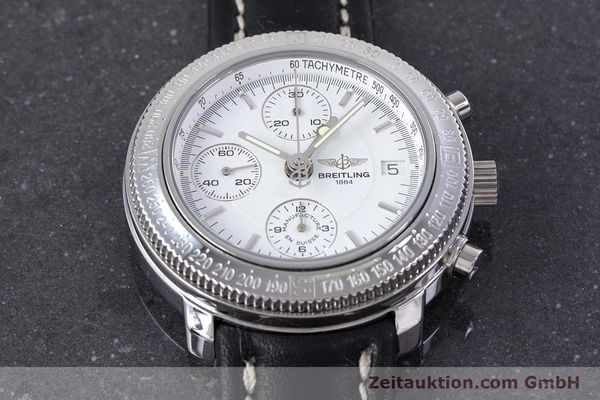 Used luxury watch Breitling Astromat chronograph steel automatic Kal. B20 ETA 7750 Ref. A20405  | 153564 14